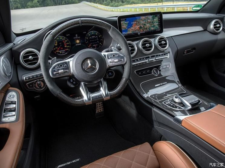 梅赛德斯-AMG 奔驰C级AMG 2019款 AMG C 63 S Estate